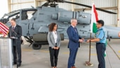 First Apache attack copter handed over to IAF in US