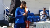 World Cup 2019: Virat Kohli, MS Dhoni and others hit the nets after India reach London