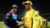 Watch: MS Dhoni leads celebrations as CSK enter 8th final in style after win over Delhi