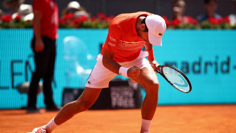 Novak Djokovic beat Dominic thiem to reach Madrid Open final.