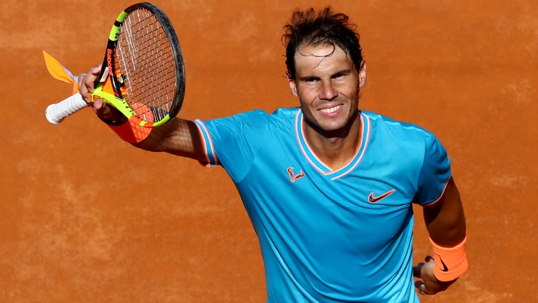 d5cfa9576e573 Rafael Nadal races into Rome semis with win over Fernando Verdasco ...