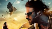Saaho new poster out. Baahubali Prabhas races against time in spy thriller