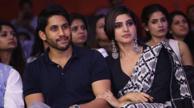 Samantha and Naga Chaitanya playing with their pet dogs is a sight to behold. See pics