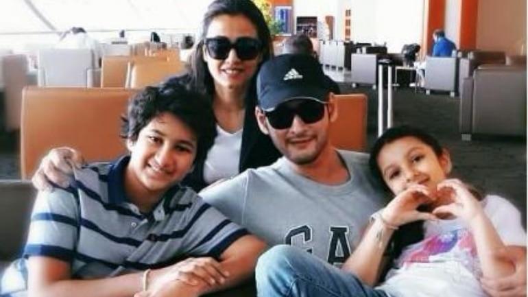 Mahesh Babu and Namrata Shirodkar jet off to special family