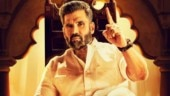 Suniel Shetty unveils first look poster of Kannada film Pailwaan. See viral photo