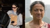 Kajol visits mother Tanuja at hospital, a day after father-in-law Veeru Devgan's death