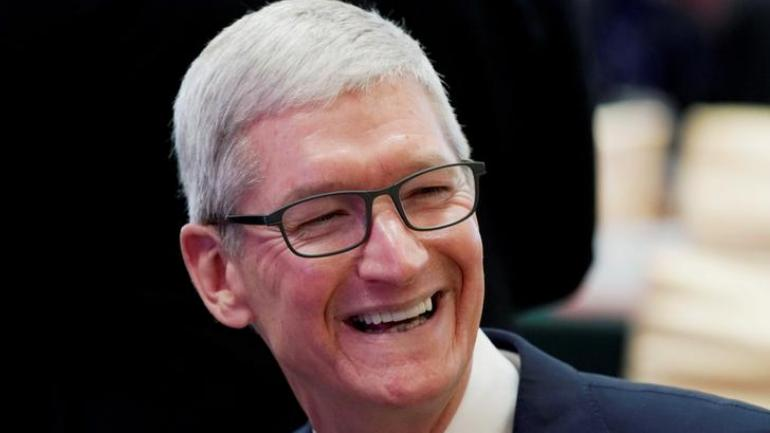 Apple Ceo Tim Cook Believes That A 4