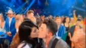 Priyanka Chopra and Nick Jonas steal a kiss during Billboard Music Awards 2019. Watch viral video