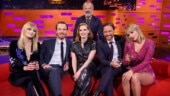 Sophie Turner and Taylor Swift at Graham Norton's Show