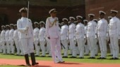 Admiral Karambir Singh takes over as Navy chief