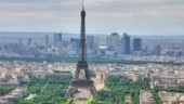 Eiffel Tower evacuated after man attempts to climb the Paris landmark