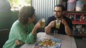 Aamir Khan and Kiran Rao can't take eyes off each other as they enjoy ganney ka juice on date