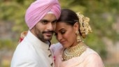 Neha Dhupia wishes Angad Bedi happy anniversary with an unseen wedding video