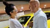 Anupam Kher meets Kangana Ranaut at airport, shares photo and says she is his favourite. See pic