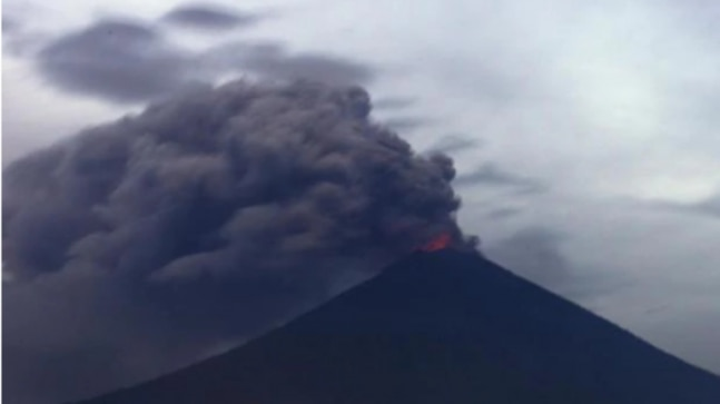 Bali Volcano Erupts Disrupts Flight Services In Indonesia World News