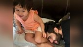 Taimur Ali Khan has a playful Saturday with uncle Armaan Jain. See pic and videos