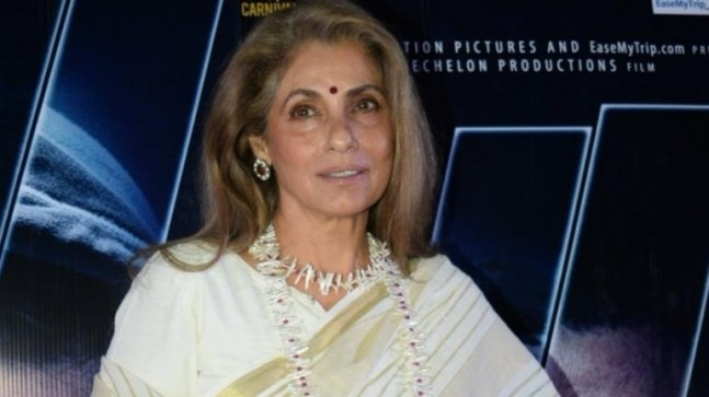 Dimple Kapadia got role in Christopher Nolan film after audition: Actress's manager