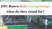DTC Buses: Red, Green and Orange what do they stand for?