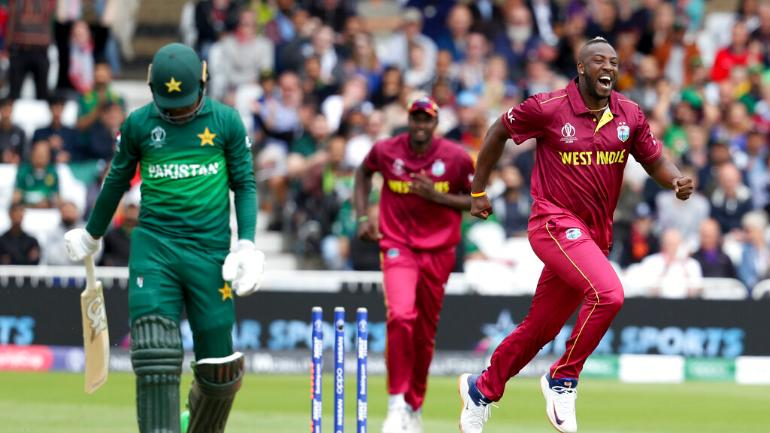 World Cup 2019: Pakistan batsmen were struggling against West Indies pacers in their opening match in Nottingham (AP Photo)