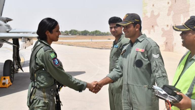 Flight Lieutenant Bhawana Kanth - the first female fighter pilot of Indian Air Force