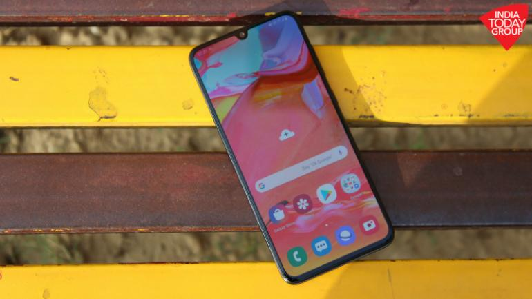 Samsung Galaxy A70 review: Worth buying for its big battery and