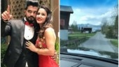 Rocky Jaiswal takes Hina Khan on a romantic drive in Switzerland. See pics