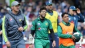 Pakistan vs England: Imam-ul-Haq escapes serious injury after being hit by a Mark Wood ball