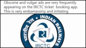 Man trolls IRCTC for vulgar ads on the railway app. Their savage reply has Twitter in splits