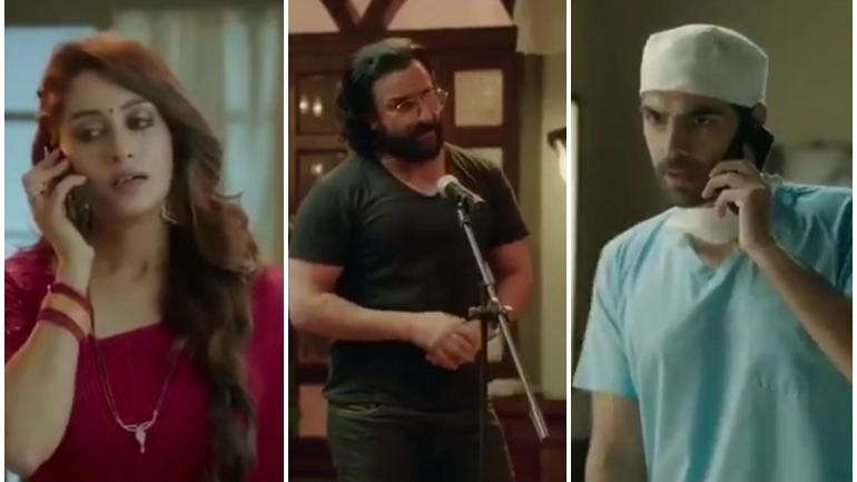 Kahan Hum Kahan Tum first trailer: Saif Ali Khan introduces