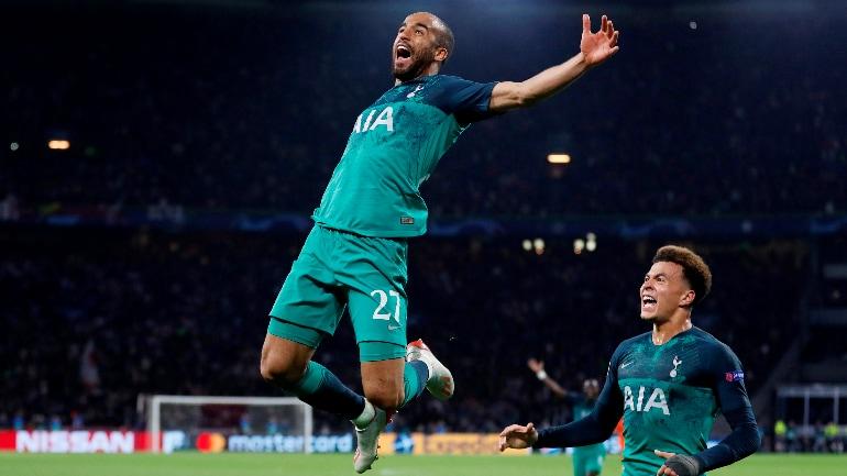 Champions League Lucas Moura Hat Trick Sinks Ajax As Tottenham Reach Final Sports News