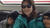 Madhuri Dixit on sons Arin and Ryan: They have become used to paparazzi