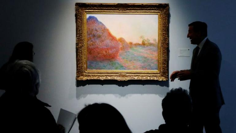 Monet's painting sells for a record breaking Rs 778 crores  Internet