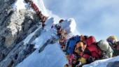 'Traffic jam' on Earth's highest point