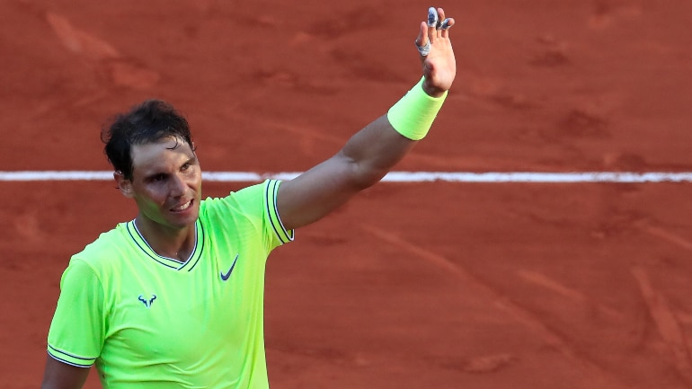 French Open: Rafael Nadal survives David Goffin scare to reach Round 4