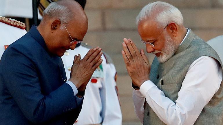 Narendra Modi oath ceremony rashtrapati bhavan