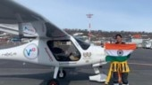 Mumbai girl is world's 1st to cross Atlantic Ocean in Light Sports Aircraft