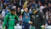 Jason Roy added 107 runs for the second wicket with Joe Root as England chased down 341 (AP Photo)