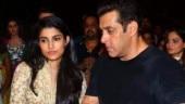 Salman Khan with his niece Alizeh Agnihotri