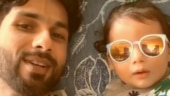 Shahid Kapoor and Zain are an adorable father-son duo in this goofy video