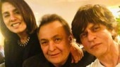 Shah Rukh Khan and Rishi Kapoor have a Deewana reunion in New York