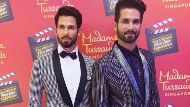 Shahid Kapoor won't let Misha and Zain see his wax statue: Could be traumatic to see two dads
