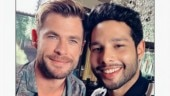 Gully Boy actor Siddhanth Chaturvedi takes selfie with Chris Hemsworth, asks if he is worthy