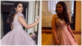Isha Ambani is a lilac dream in plunging neckline embellished gown for Met Gala 2019. See pics