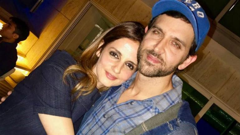 Sussanne Khan on equation with Hrithik Roshan: It is not a
