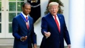 Emotional Tiger Woods accepts Presidential Medal of Freedom at White House