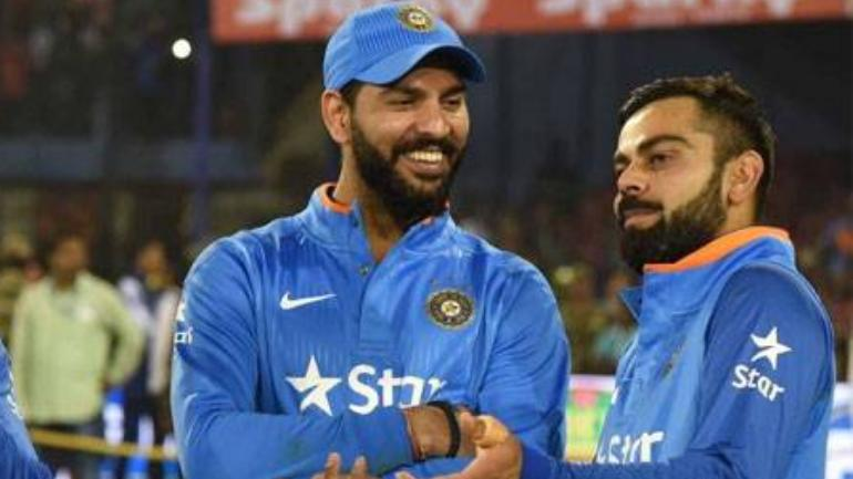 Yuvraj Singh and Virat Kohli share a great rapport on and off the field