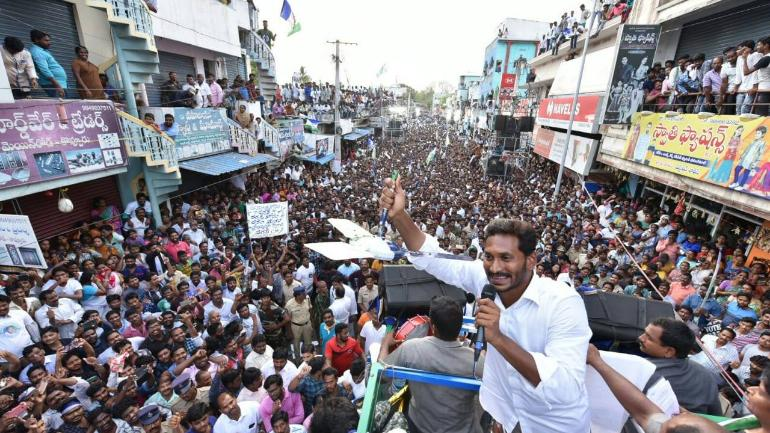 Denied CM's chair by Congress, YS Jagan Mohan Reddy got it on his
