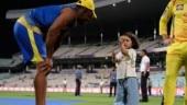 Ziva Dhoni outsmarts Dwayne Bravo in IPL 2019 throwback video