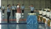 An-32 crash: Rajnath Singh pays homage to 13 Air Force men, remains to be sent home