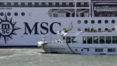 Out of control cruise ship crashes into boat in Venice, 4 tourists injured | WATCH